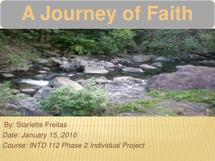 By: Starlette Freitas<br />Date: January 15, 2010 <br />Course: INTD 112 Phase 2 Individual Project<br />