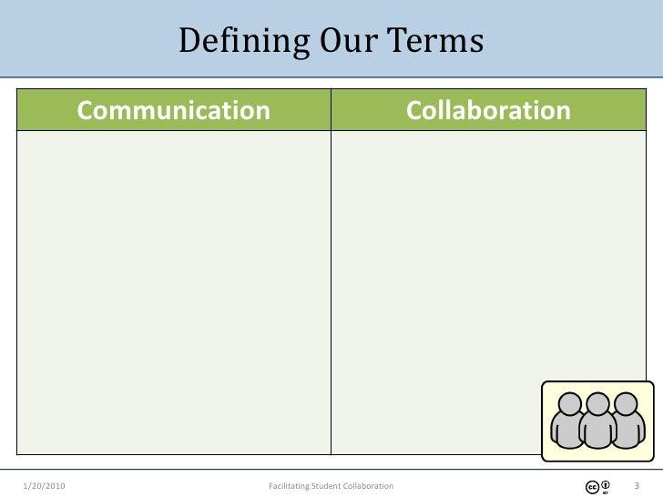 1-20-2010 Facilitating Student Collaboration Slide 3