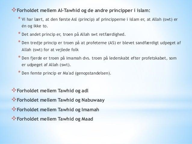  Oprigtigt tro på Tawhid Iblis skæbne