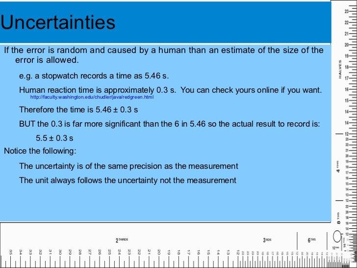Precision is improved by reducing random errors. </li></ul>