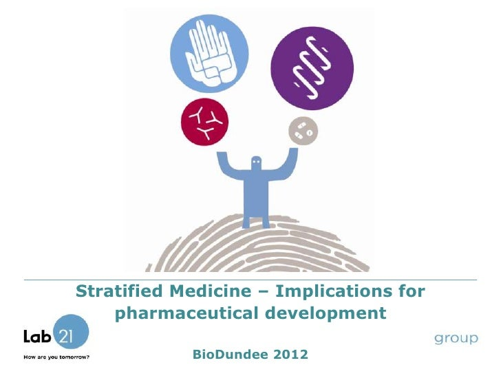 Stratified Medicine – Implications for    pharmaceutical development            BioDundee 2012