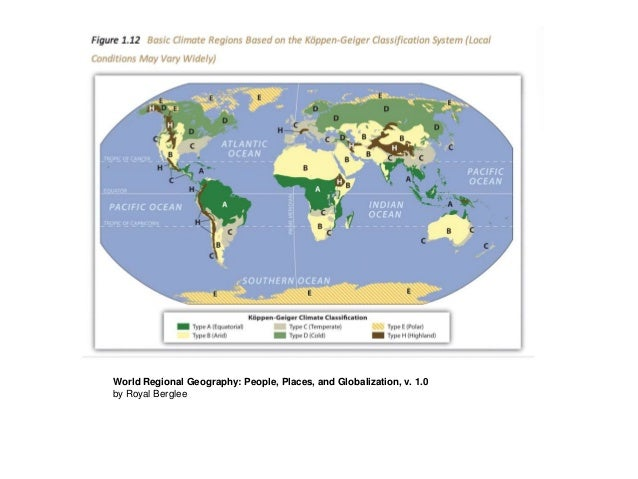 World Regional Geography: People, Places, And Globalization ...