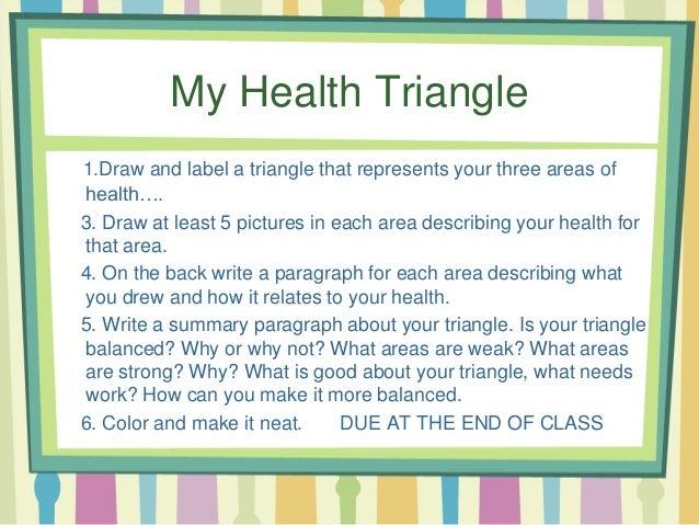 1 2 health areas and health triangle