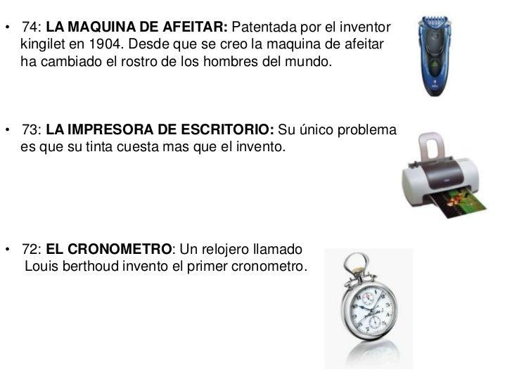 inventos e inventores tecnologicos