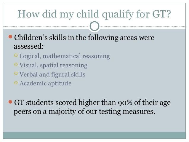 1st & 2nd Grade GT Parent Meeting 2013 Slide 2