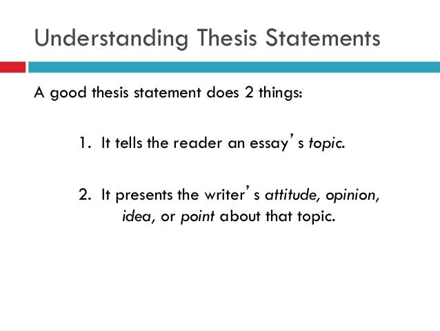 blueprint thesis statement Umbrella and thesis statements depending on the type of report you are writing  or on your reader's needs, your main message can take different forms for the.