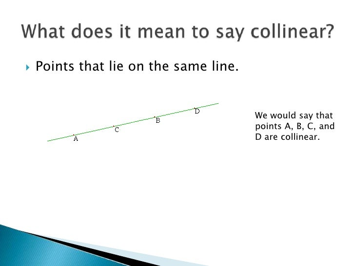 Drawing Lines What Does It Mean : Points lines and planes