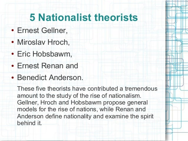primordial theory of nationalism