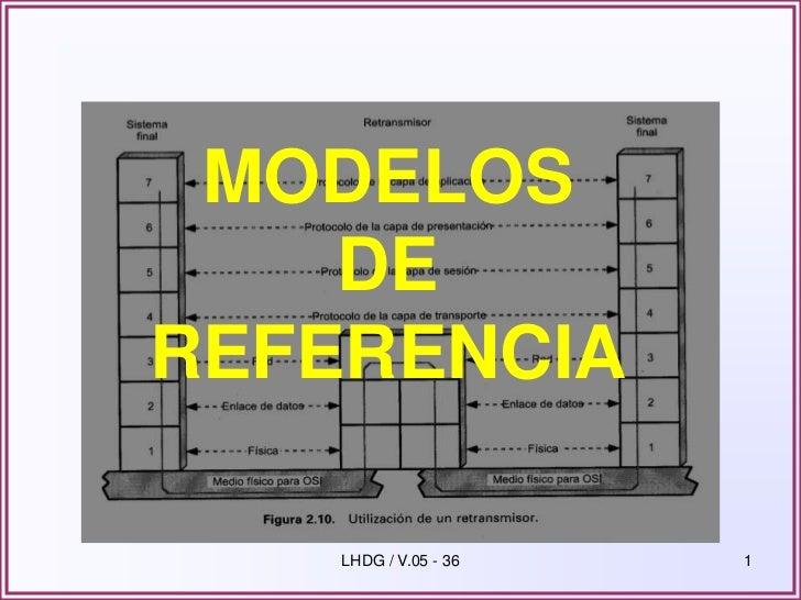 MODELOS    DEREFERENCIA    LHDG / V.05 - 36   1