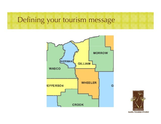 Defining your tourism message