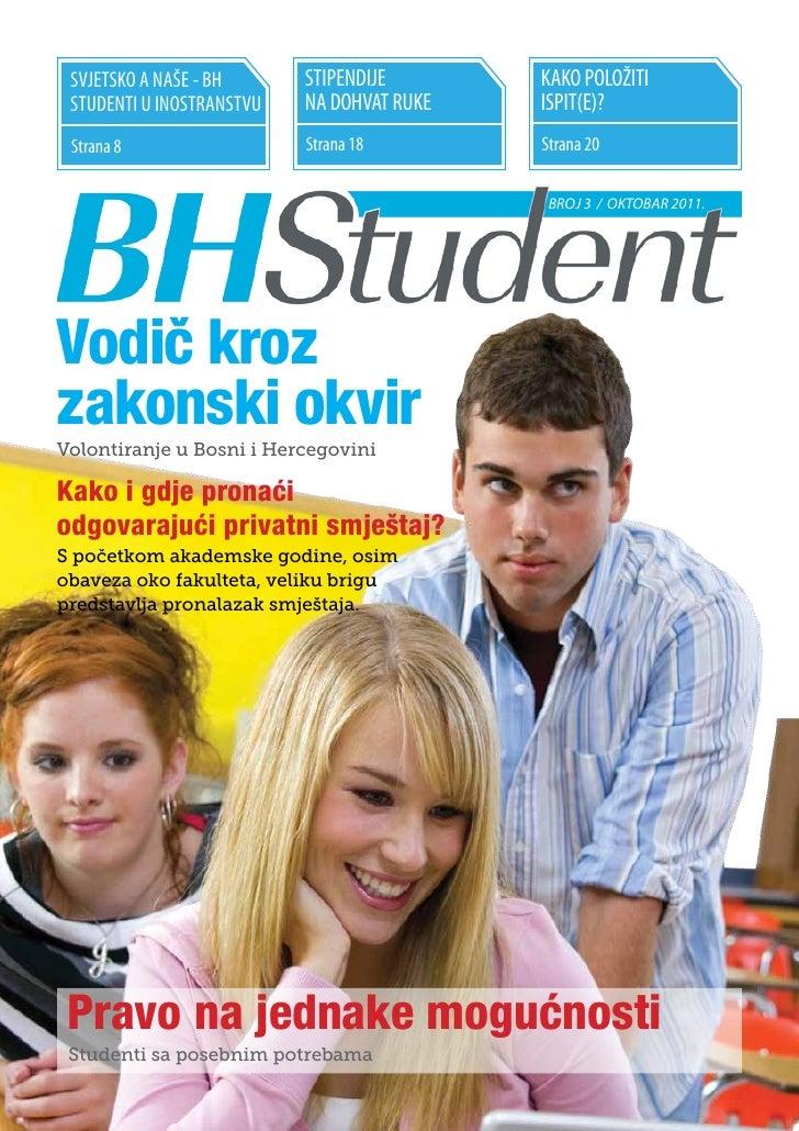 SVJETSKO A NAŠE - BH      STIPENDIJE       KAKO POLOŽITI STUDENTI U INOSTRANSTVU   NA DOHVAT RUKE   ISPIT(E)? Strana 8    ...