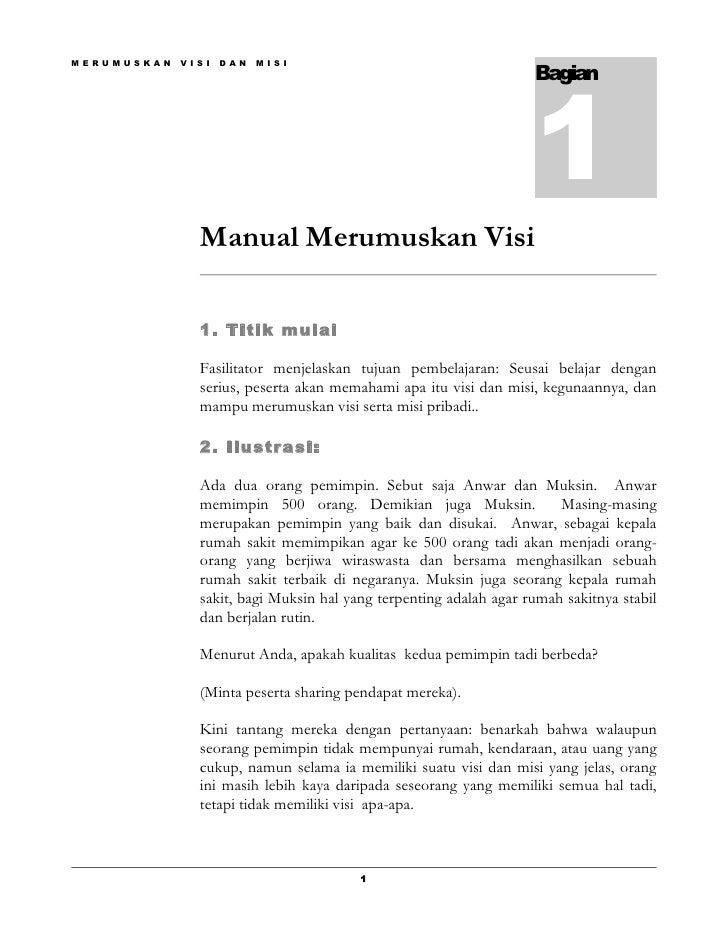 1 3 B Manual Perumusan Visi Pribadi
