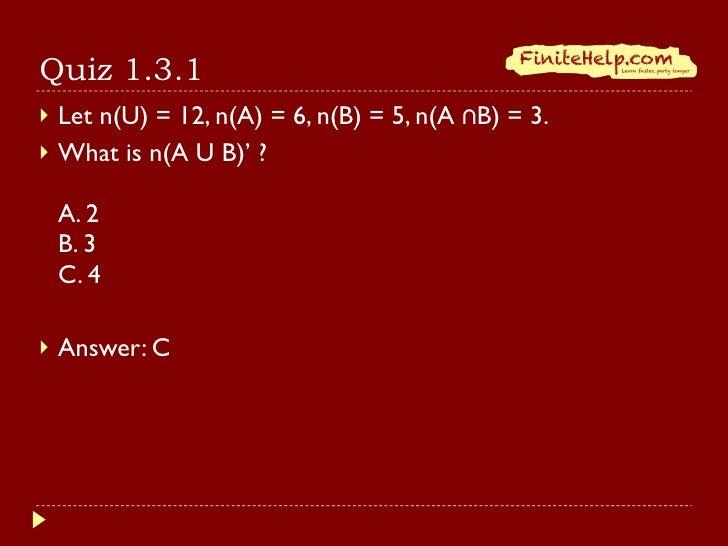 finite math