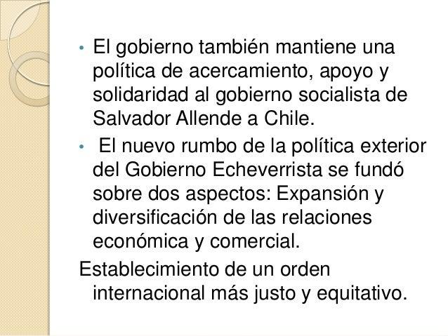 1 3 pol tica exterior de los gobiernos mexicanos for Gobierno exterior