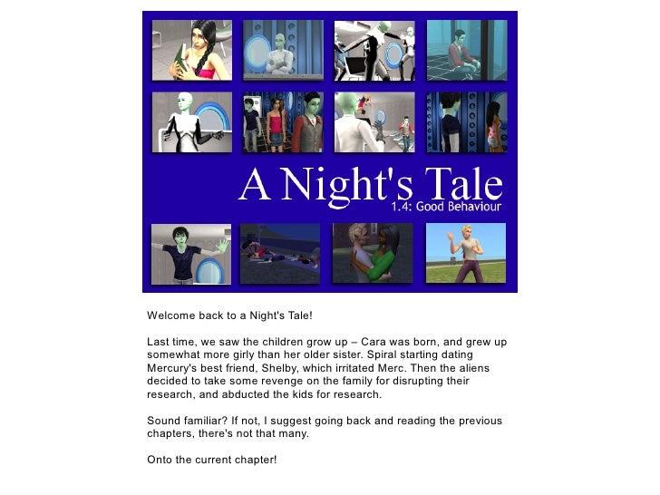 A Night's Tale: 1.4