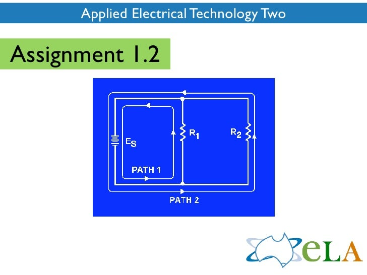Applied Electrical Technology Two  Assignment 1.2