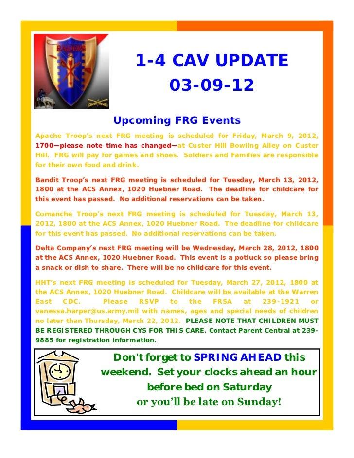 1-4 CAV UPDATE                                       03-09-12                      Upcoming FRG EventsApache Troop's next ...