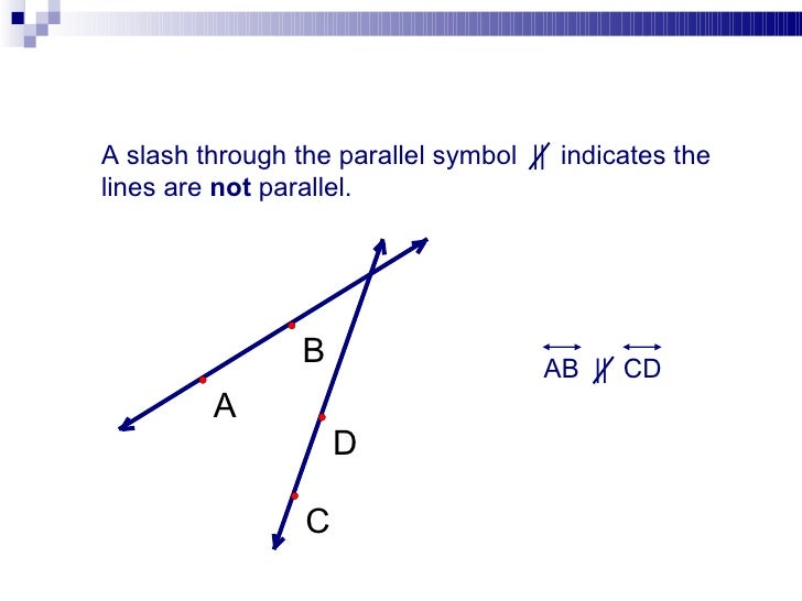 parallel planes symbol. ab || cd; 10. a slash through the parallel symbol planes e