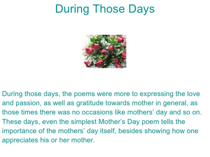 N Mothers Day Some Tips on Writing Y...