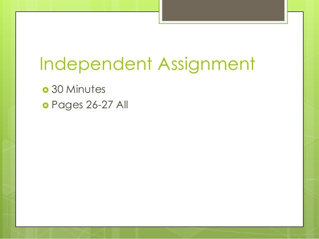 ebonics homework assignment