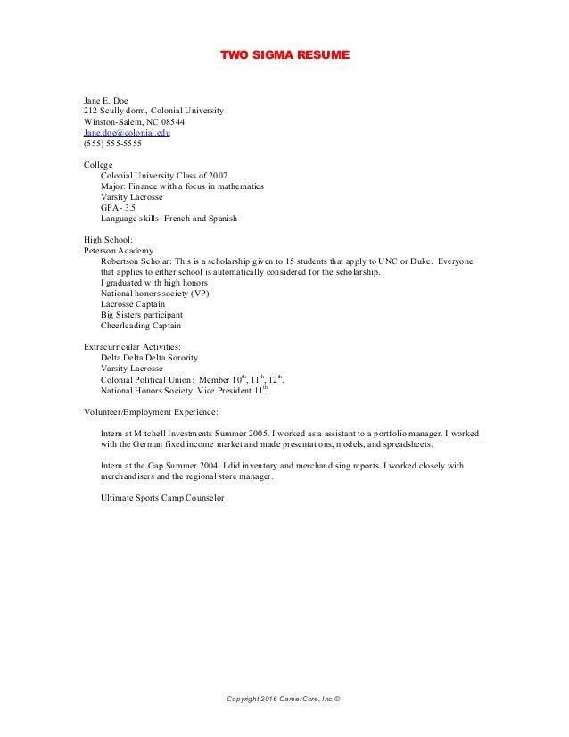 Resume Summer Camp Counselor Description - Contegri.com