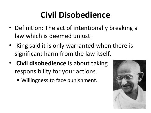 Awesome Civil Disobedience U2022 Definition: .