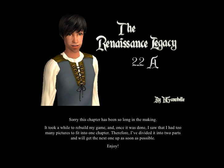 Sorry this chapter has been so long in the making. It took a while to rebuild my game, and, once it was done, I saw that I...