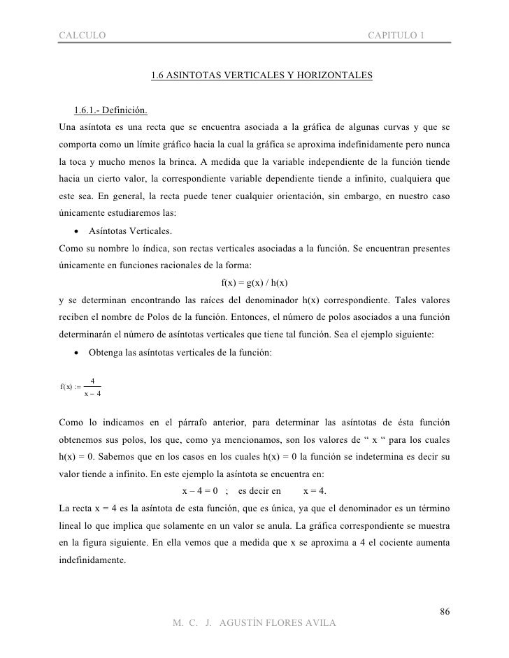 CALCULO                                                                       CAPITULO 1                            1.6 AS...