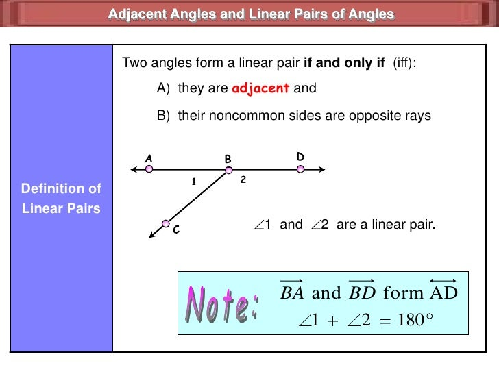 1.7 angles and perpendicular lines