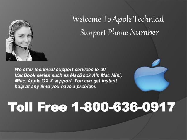 1 800-636-0917 Apple Mac Technical Support Phone Number