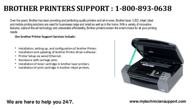 1 800-893-0638 Brother Printer Support