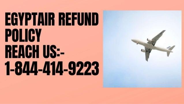 1 844-414-9223 |Egyptair refund policy |reimbursement