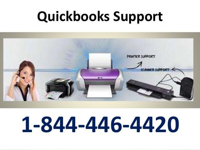 Quickbooks Support 1-844-446-4420