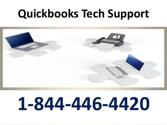 Quickbooks Tech Support 1-844-446-4420