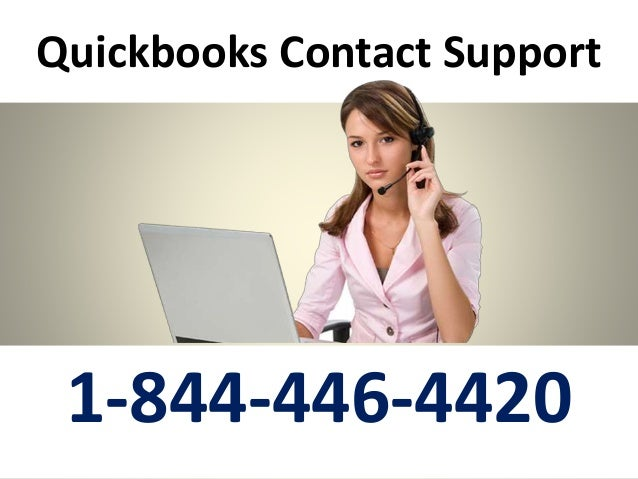 Quickbooks Contact Support 1-844-446-4420