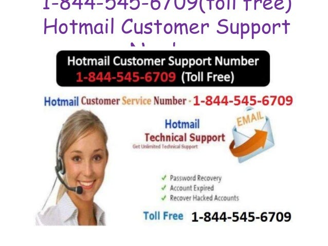 1-844-545-6709(toll free) Hotmail Customer Support Number