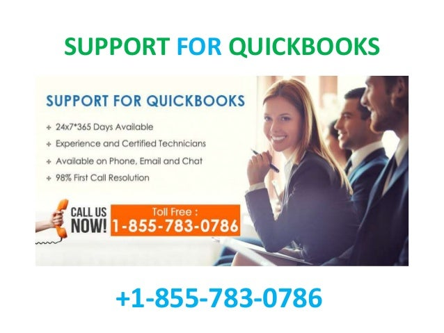 SUPPORT FOR QUICKBOOKS +1-855-783-0786