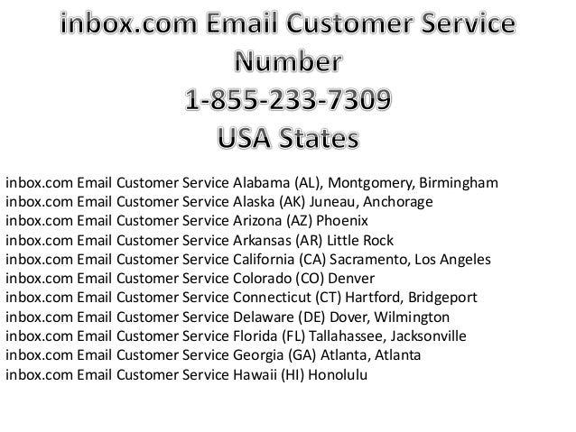 (233-7309) Inbox.com Email Customer Service