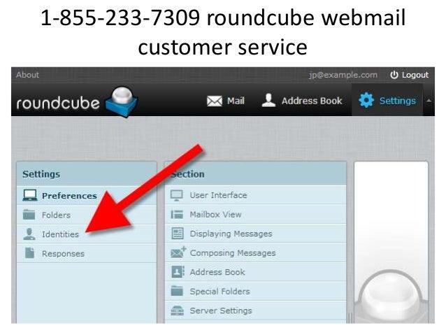 1-833-410-5666 roundcube webmail customer service