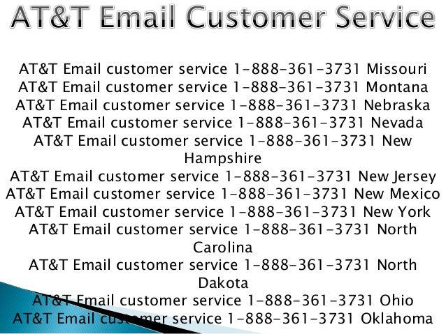 at u0026t email customer service 1