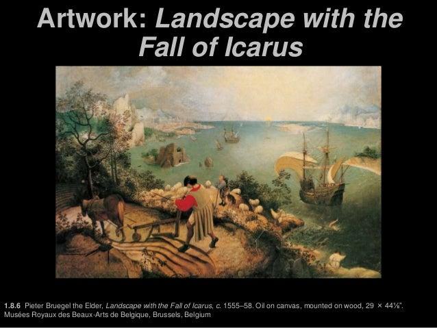 bruegel icarus painting