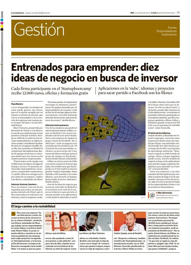 EL ECONOMISTA JUEVES, 1 DE SEPTIEMBRE DE 2011                                                                             ...