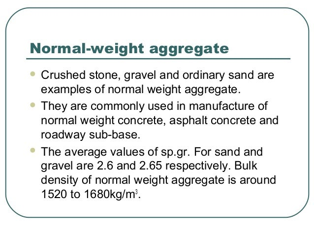 Crushed Stone Weight : Unit weight of crushed stone aggregate berry