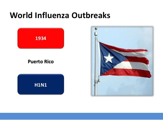 World Influenza Outbreaks 1934 Puerto Rico H1N1