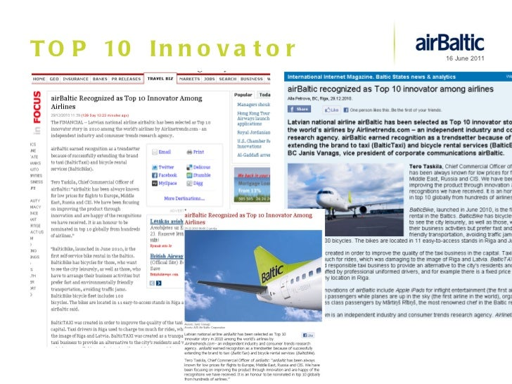 TOP 10 Innovator