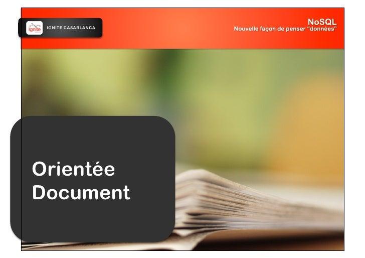 IGNITE CASABLANCA     Orientée Document