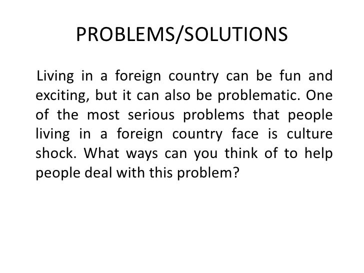 analysing an essay question 30 problems solutionsliving in a foreign country