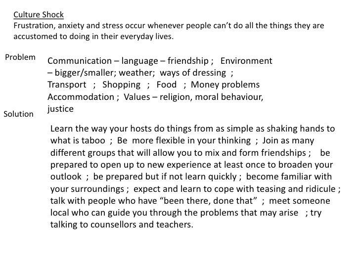 culture shock essay conclusion