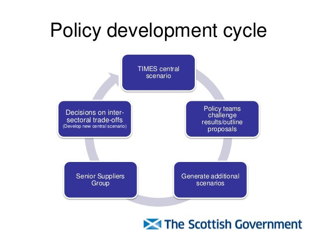 Policy Development Using Scottish Times