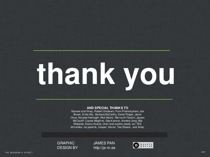 thank you                                          AND SPECIAL THANKS TO                             Sameer and Vinay, Rob...